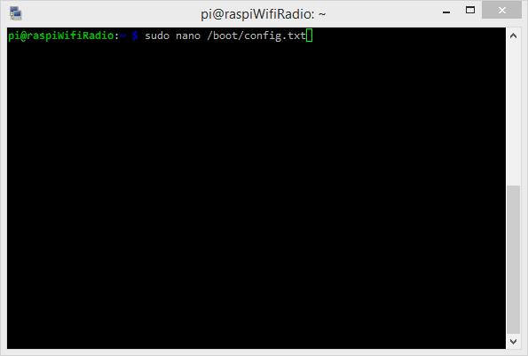 Modifier le fichier de configuration du démarrage