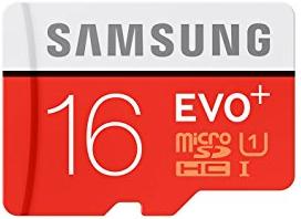 microSD Samsung Evo+