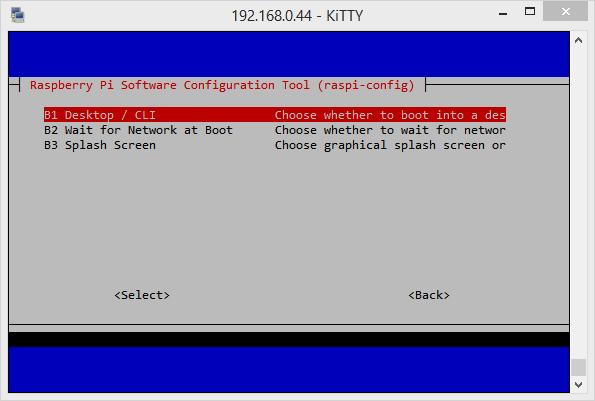 Jusqu'où le Raspberry soit démarrer ?